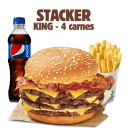 Mega Stacker King 4 Carnes