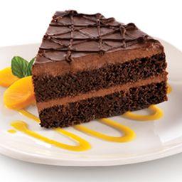 Rebanada Pastel de chocolate