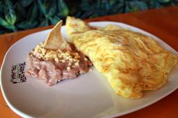 Omelette con Jamón