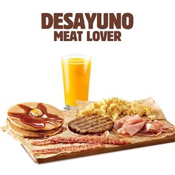 Desayuno Meat Lover