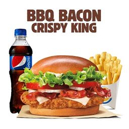 BBQ Bacon Crispy King