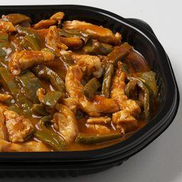 Puntas de pollo en salsa de morita (1 kg)