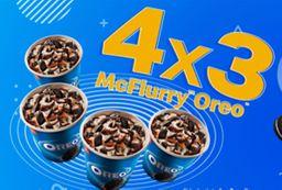 4 x 3 Mc Flurry Oreo