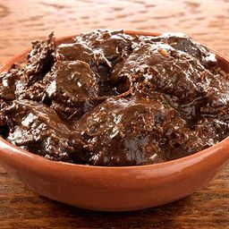 Pollo con mole poblano 1/2 kg