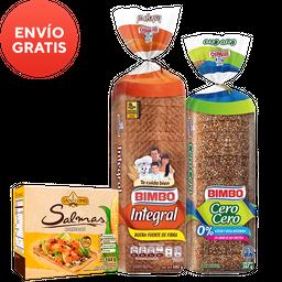 Rappicombo Pan Doble cero + Tortillinas tía Rosa + Saníssimo
