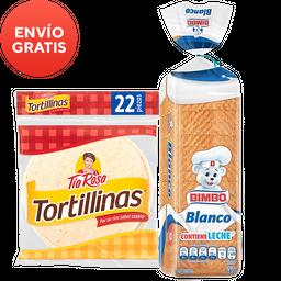 Rappicombo Pan Blanco + Tortillinas Tía Rosa