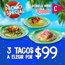 Promo Especial Tacos