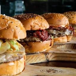 Promo 2 hand burgers