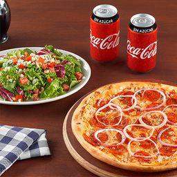 Paquete Pizza Peperoni (2 personas)
