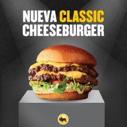 Promo Classic Cheeseburger + Papas Fritas