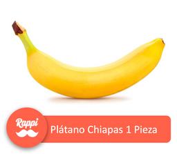 Plátano Chiapas 1 Pieza