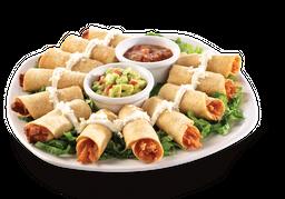 Tacos Botaneros (12 pzas) + Refresco 355 mL