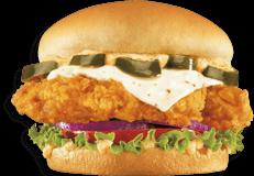 Pollo Tender Sándwich Jalapeño Individual