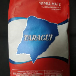 Yerba mate taragui con palo 1kg