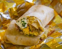 Taco'n Huevos Burritos