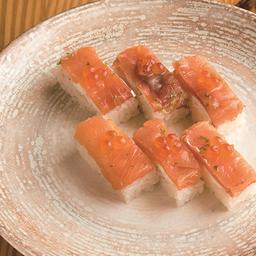 Battera smoked salmón grande