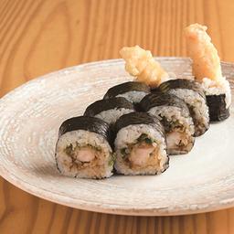 Rollo camarón tempura
