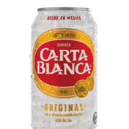 Cerveza carta blanca 355ml