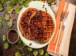 Protein Choco-Waffle