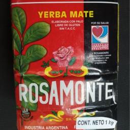 Yerba mate rosamonte 1 kg