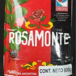 Yerba mate rosamonte 500 grs