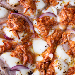Pizza de cochinita