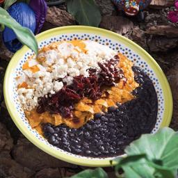 Chilaquil vegano