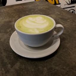 Matcha latte..