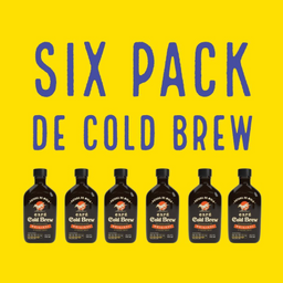 Six pack coldbrew embotellado