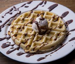 Waffle+cajeta 0 nutella