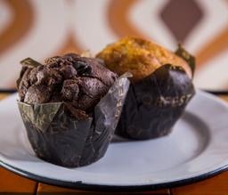 Muffin caramelo
