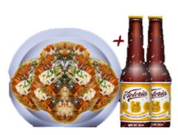 2 Cervezas Victoria + 5 tacos al pastor GRATIS!