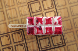 Paleta de Yogurth con Frutos Rojos