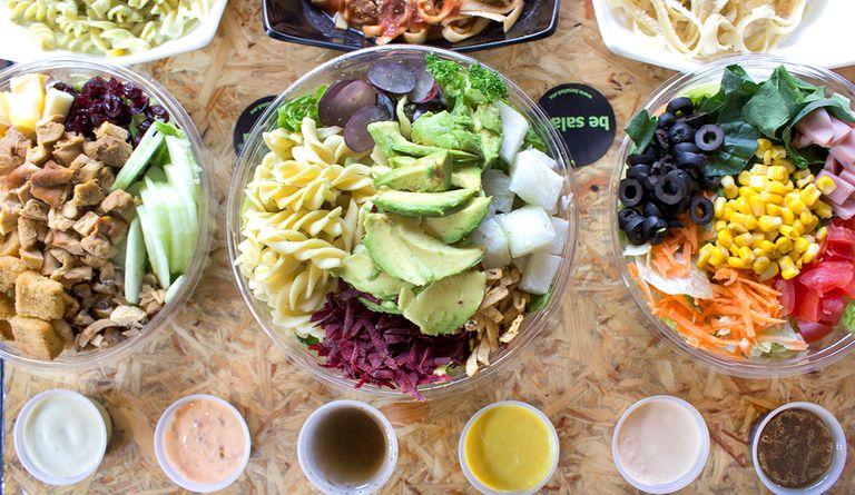 Logo Be Salad