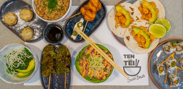 Logo Ten Tei Sushi Bowls