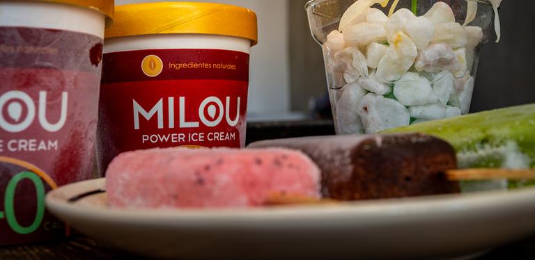 Logo Milou Power Ice Cream