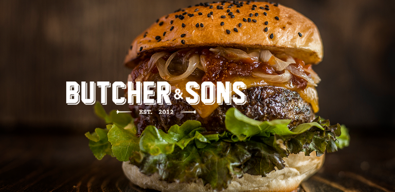 Logo Butcher & Sons