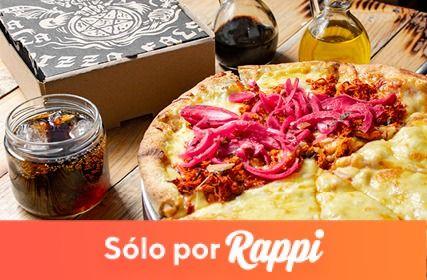 Logo Pizza del Perro Negro