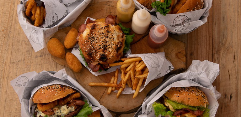 Logo Burger Market