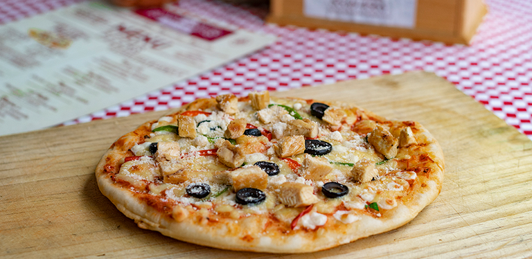 Logo Ramona's Pizza y Pasta