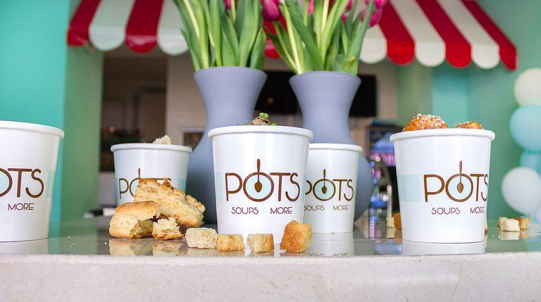 Logo Pots Soups & More