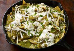 Los Chilaquiles Y Las Enchiladas
