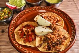 Tacos de Asada Estilo Sonora