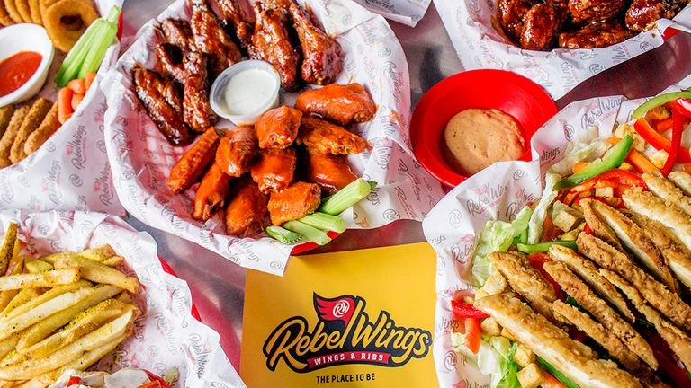 Logo Rebel Wings