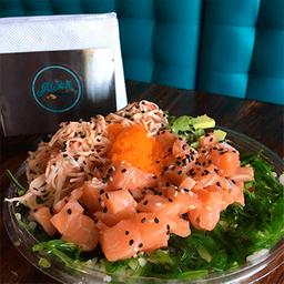 Aloha poke and salads