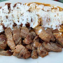 Chilaquiles Gorditos