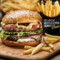 Black Burgers Angus Al Carbón