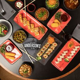 Sushi Nation Tacubaya by Grupo Anderson´s