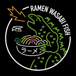 Ramen Wasabi Fish