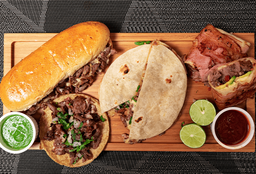 Tacos de Sirloin el Burro Hermoso
